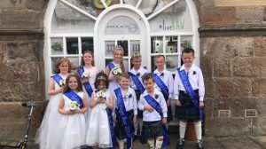 Lime Salon supporting Inverkeithing Gala