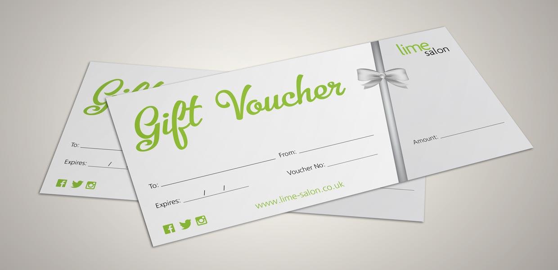 Lime Salon Gift Vouchers